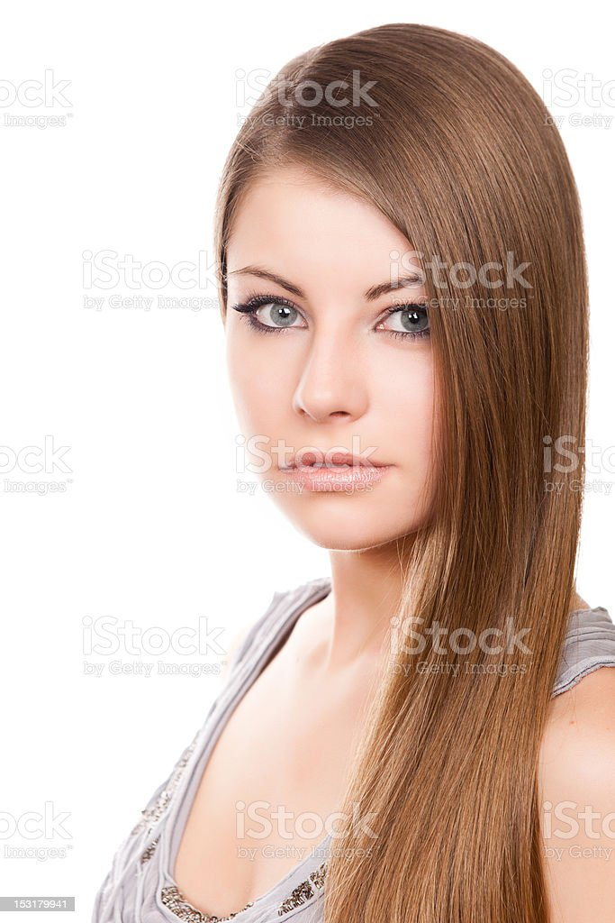 Belle fille photo libre de droits