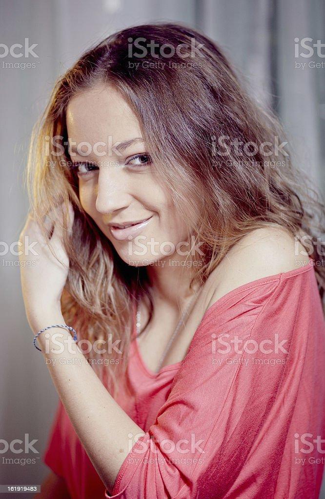 Bella ragazza foto stock royalty-free