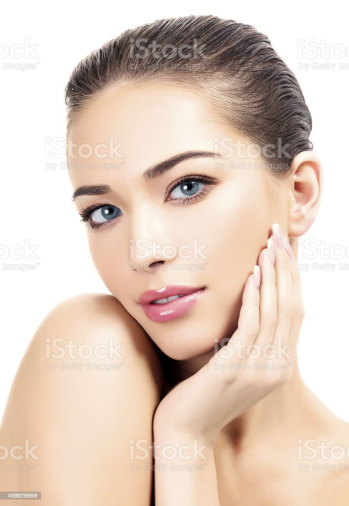 Beautiful girl stock photo