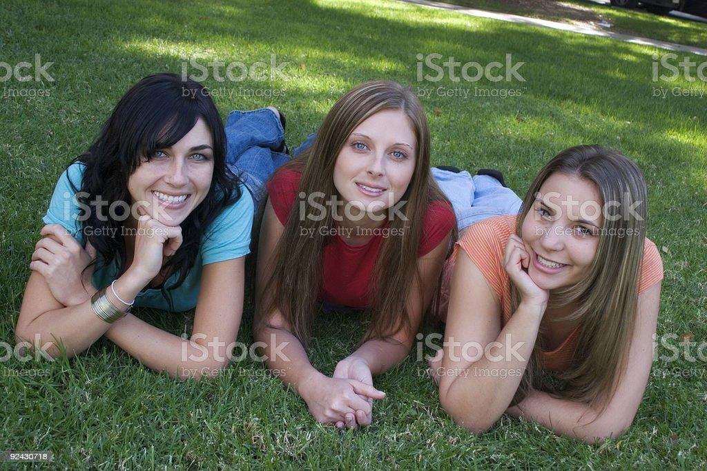 Beautiful Girls royalty-free stock photo