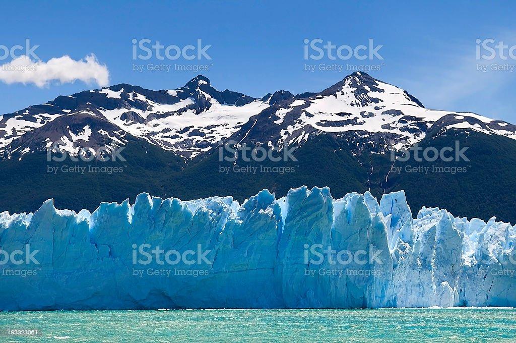 beautiful Glacier Perito Moreno stock photo
