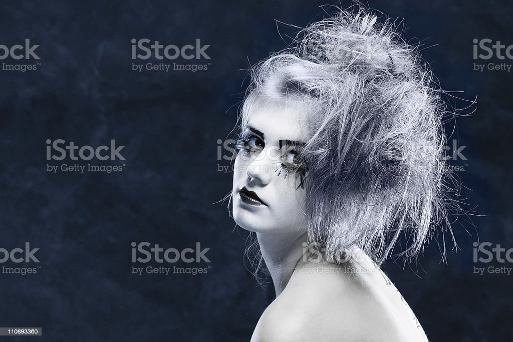 beautiful glamour girl royalty-free stock photo