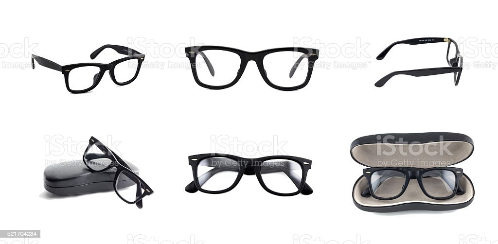beautiful glasses stock photo