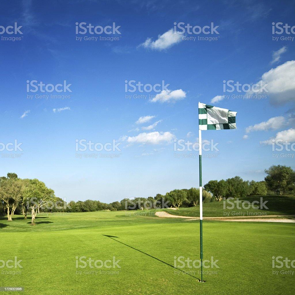beautiful golf park stock photo