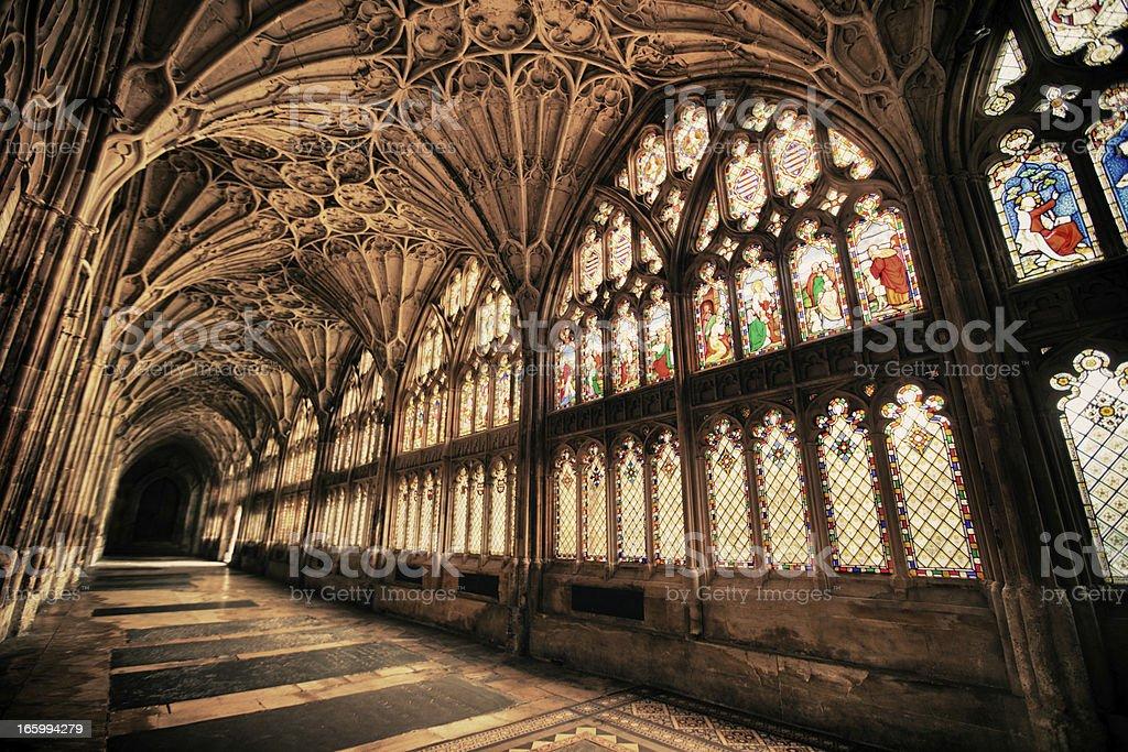 Beautiful Gothic stock photo