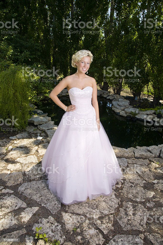 Beautiful Grad royalty-free stock photo