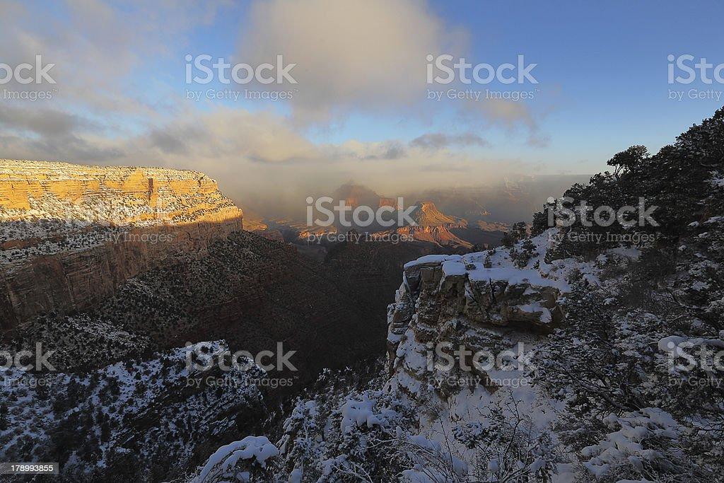 Beautiful Grand Canyon Arizona, U.S.A. royalty-free stock photo