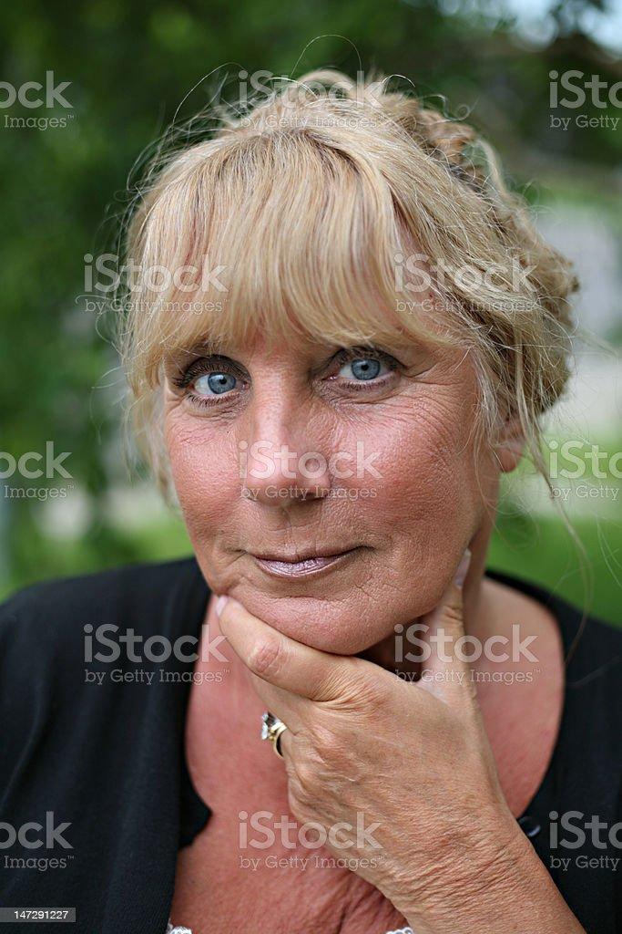 Beautiful Grandmother royalty-free stock photo