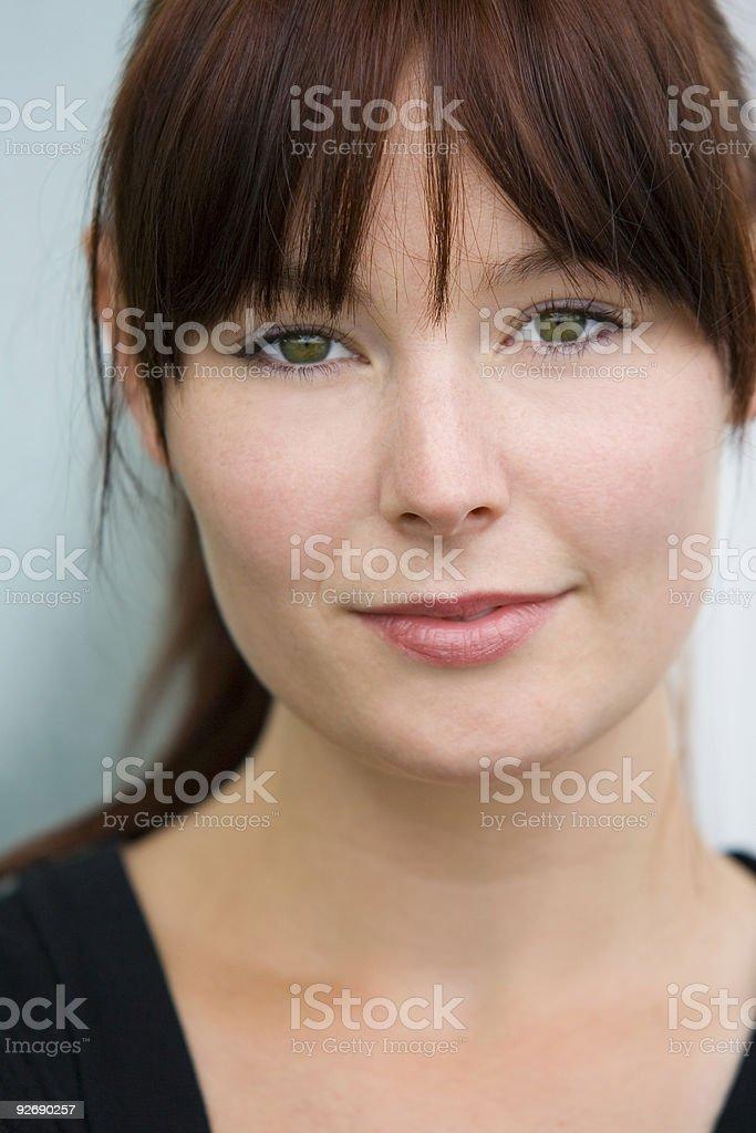 Beautiful Green Eyes royalty-free stock photo