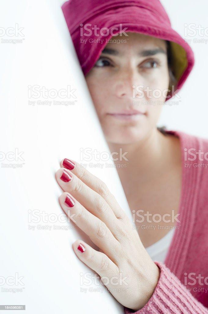 Beautiful hand. royalty-free stock photo