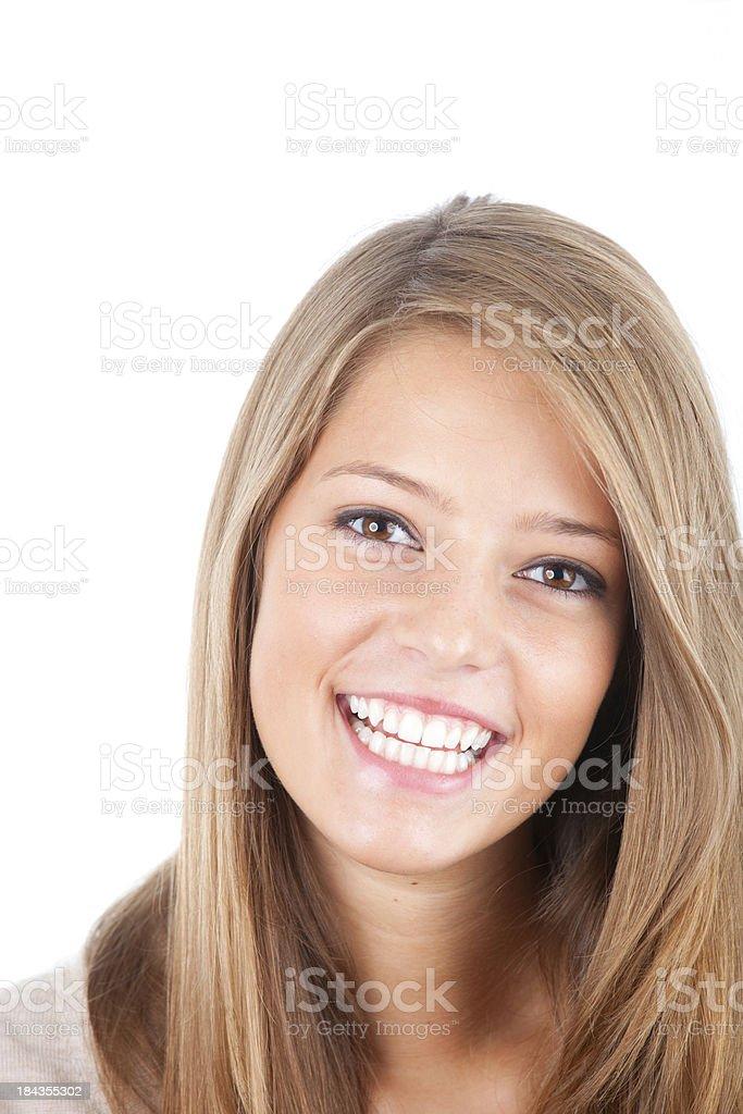 Beautiful happy girl royalty-free stock photo