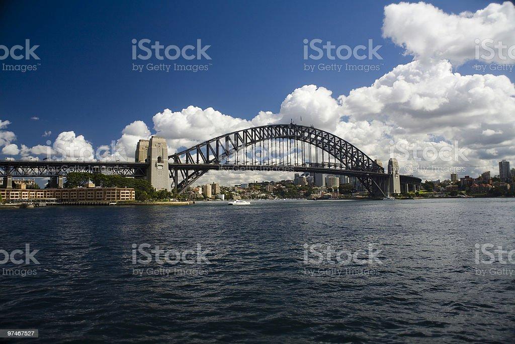 Beautiful Harbour Bridge royalty-free stock photo