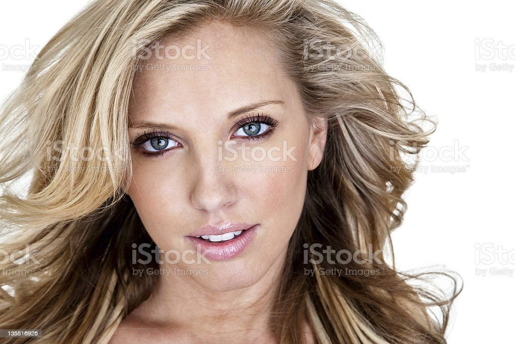 Beautiful headshot royalty-free stock photo