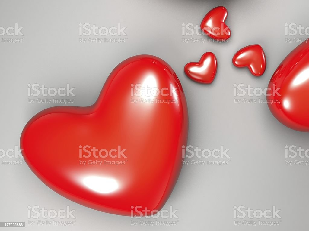 beautiful heart images royalty-free stock photo
