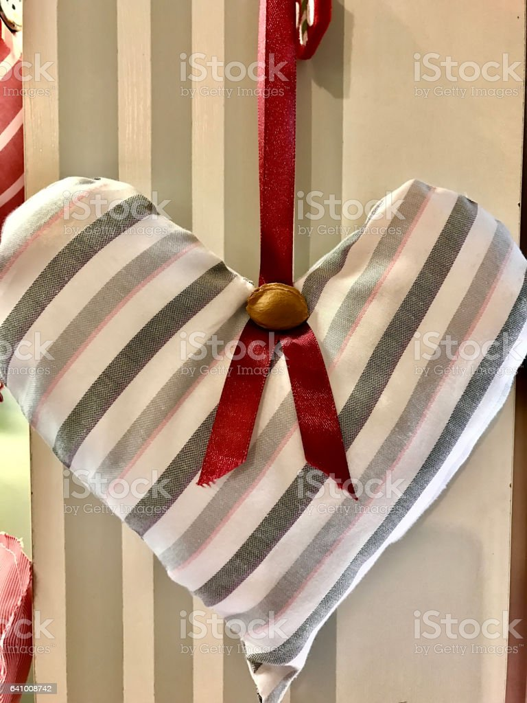 beautiful heart will give in Valentine's day stock photo