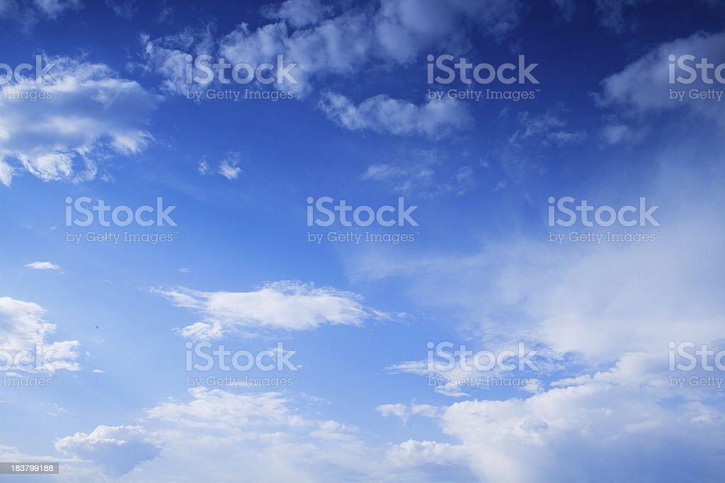 Beautiful Heavens royalty-free stock photo