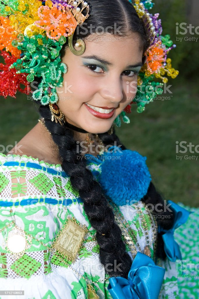 Beautiful Hispanic Girl royalty-free stock photo