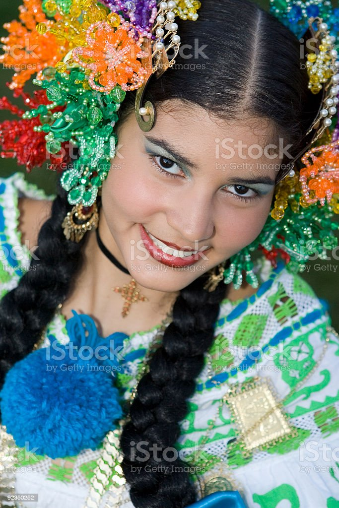 Beautiful Hispanic Girl royalty-free stock photo