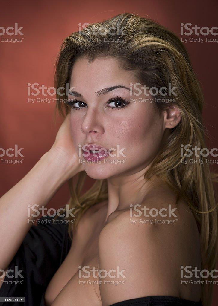 Beautiful Hispanic Young Woman stock photo