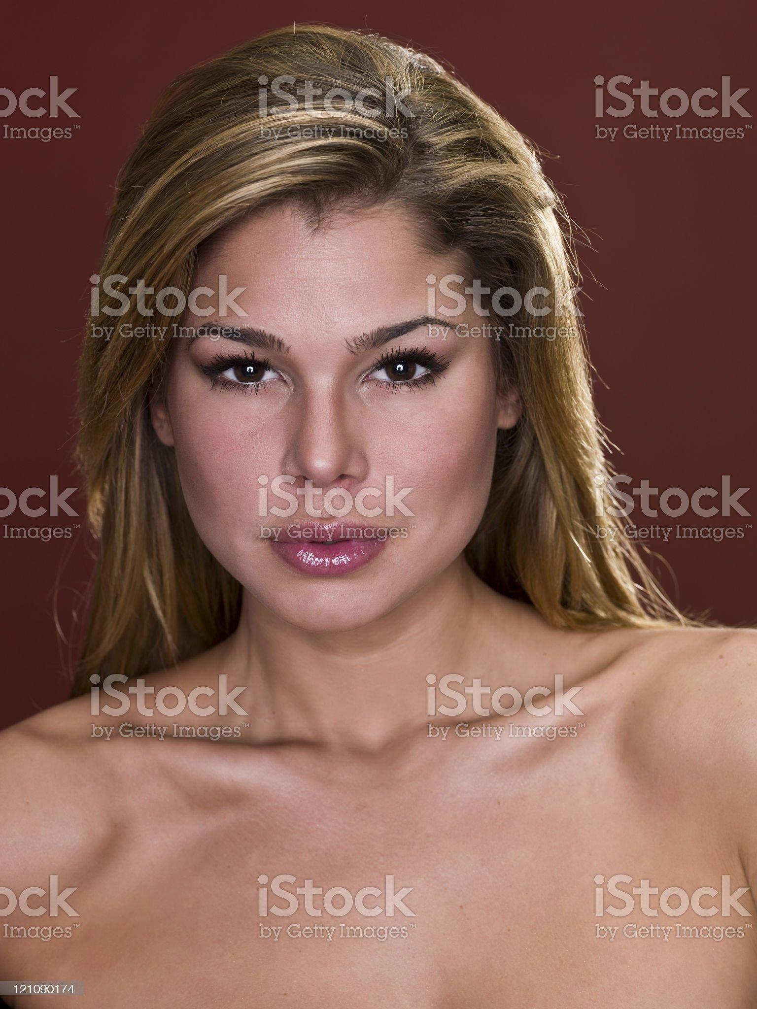 Beautiful Hispanic Young Woman royalty-free stock photo