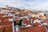 Beautiful historical city lisbon, portugal