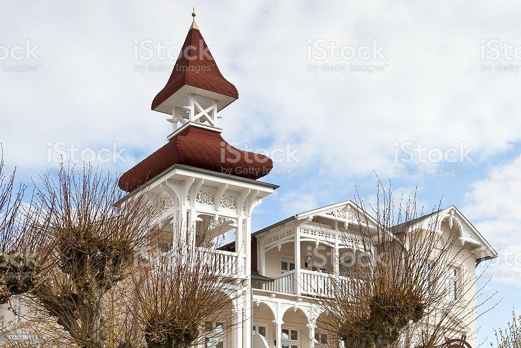 Beautiful Holiday Villa royalty-free stock photo