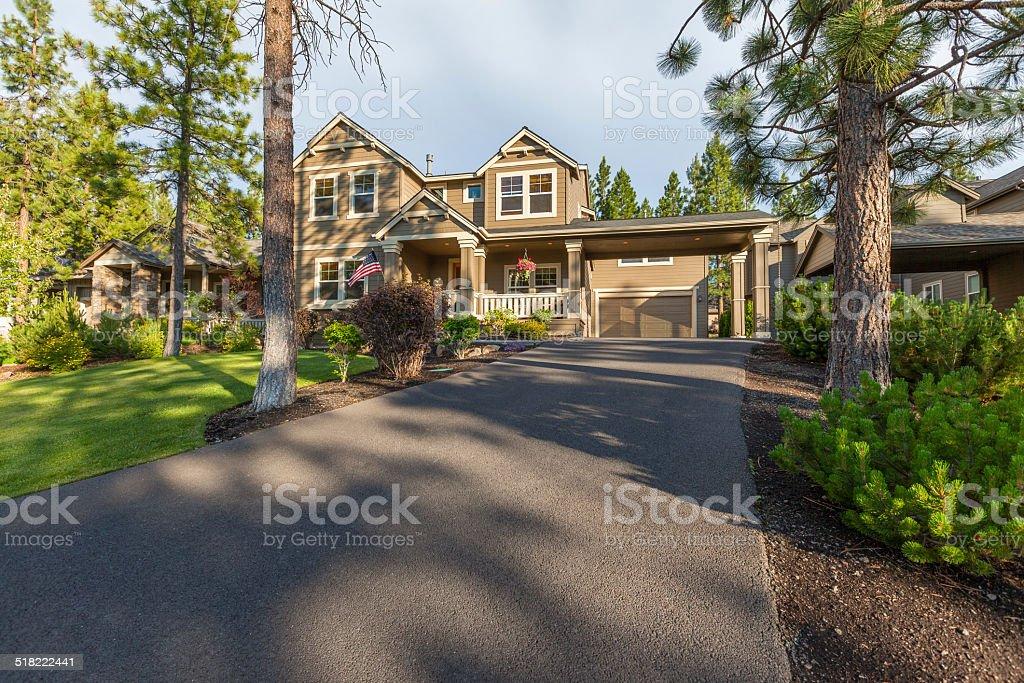 Beautiful Home stock photo