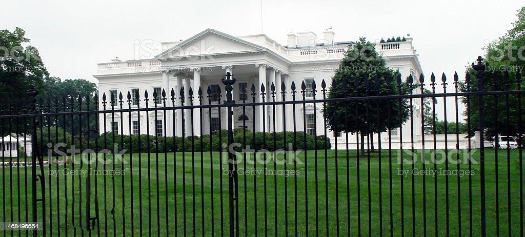 Beautiful Home,White House Washington D.C stock photo
