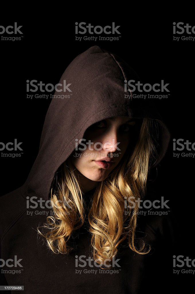 Beautiful Hoody stock photo
