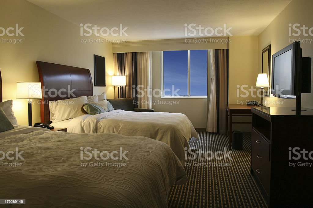 Beautiful Hotel Suite royalty-free stock photo