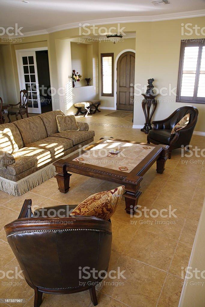 Beautiful house interior royalty-free stock photo