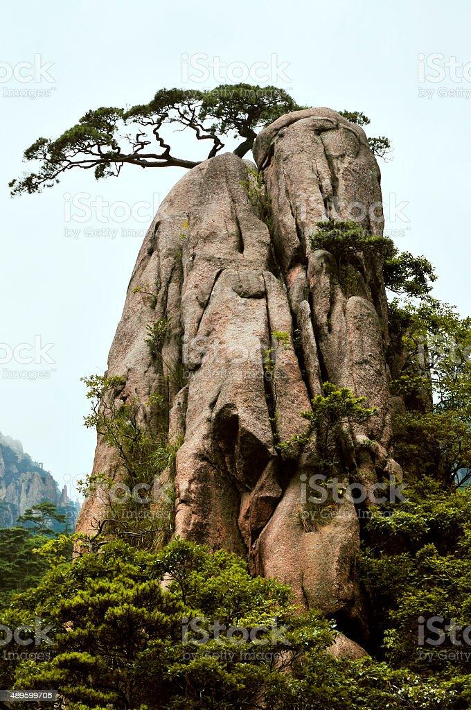 Beautiful Huangshan Mountains,Yellow Mountains,southern China, China stock photo