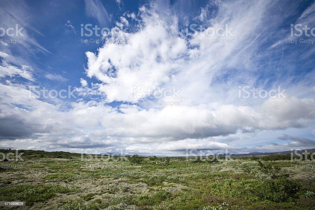 Beautiful Iceland Landscape royalty-free stock photo