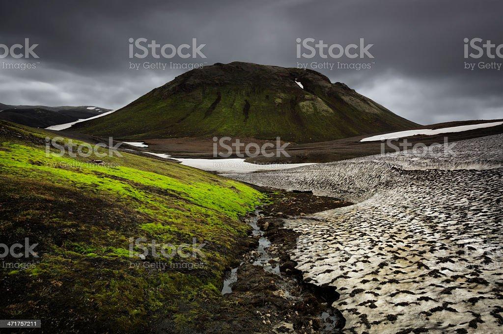 Beautiful Icelandic Landscape stock photo