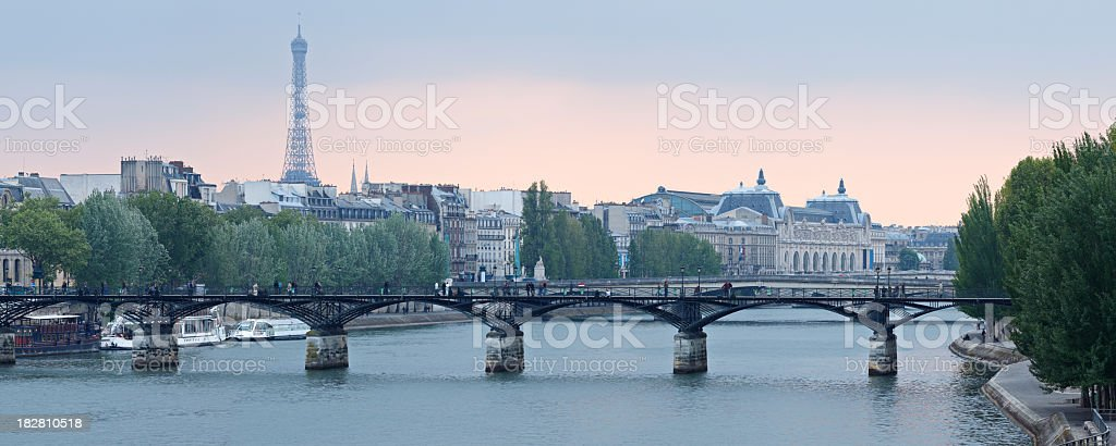 A beautiful image of the landmarks of Paris royalty-free stock photo