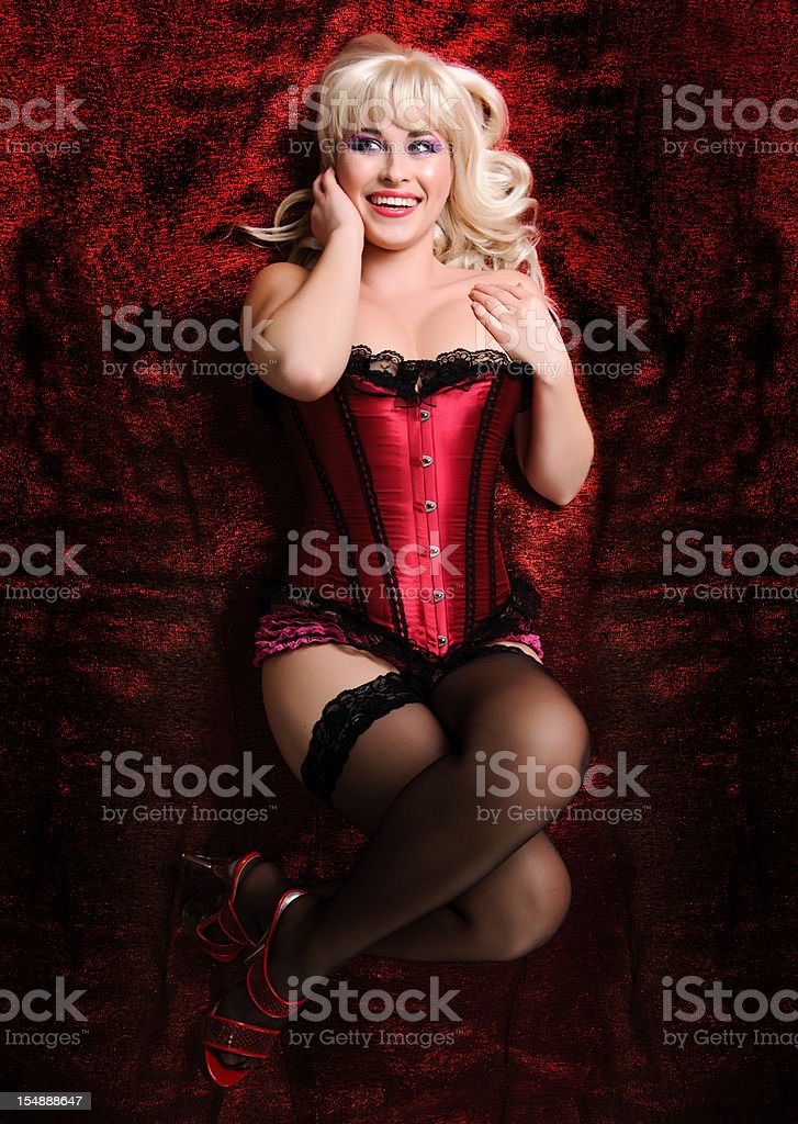 beautiful in lingerie royalty-free stock photo
