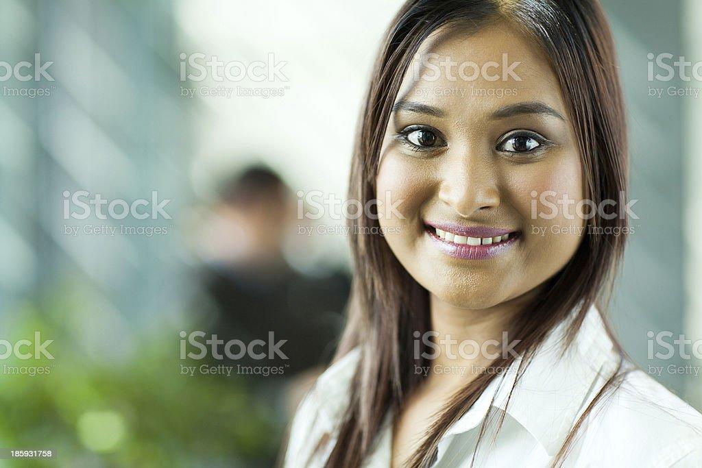 beautiful indian businesswoman royalty-free stock photo