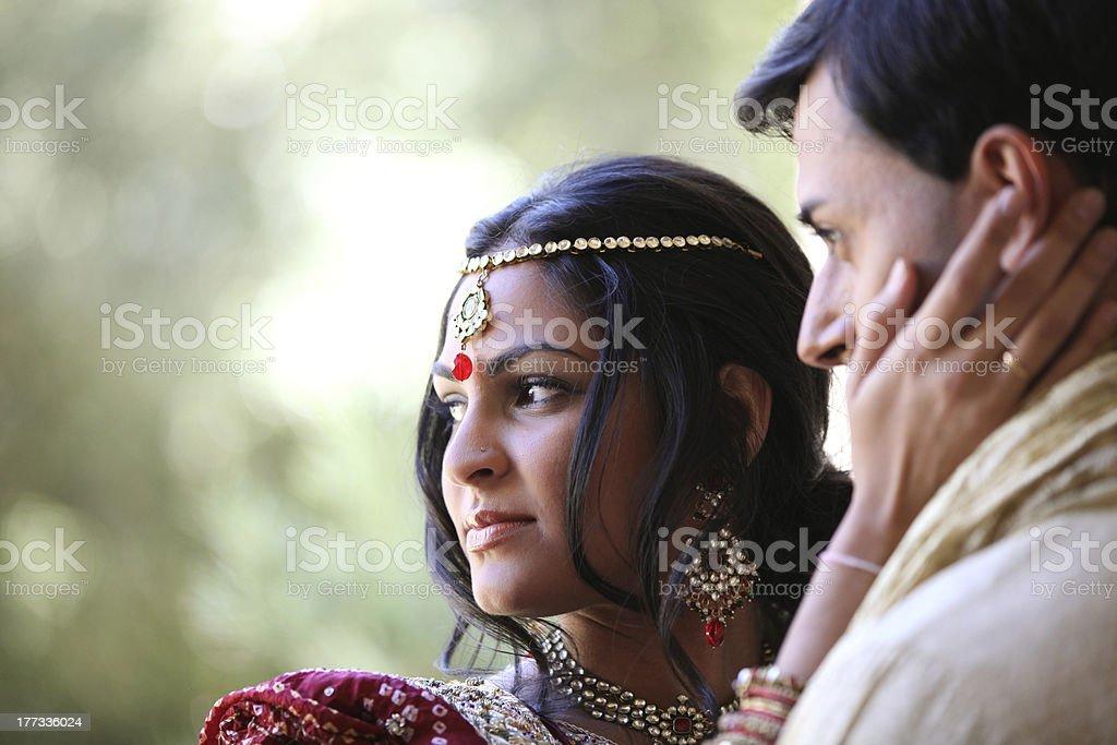 Beautiful Indian Couple stock photo
