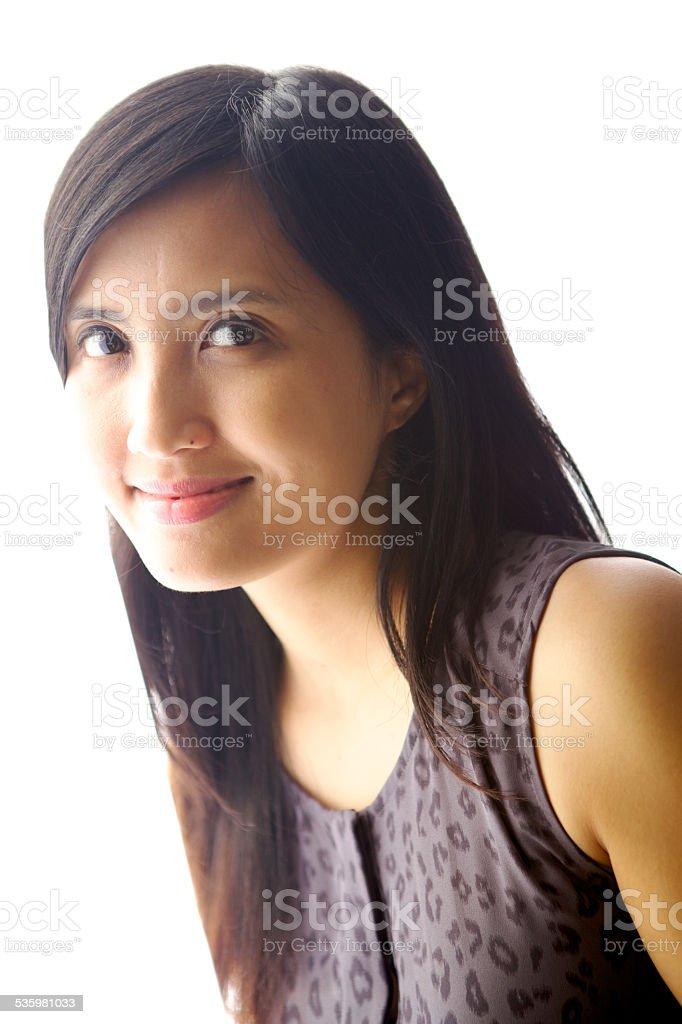 Beautiful Indonesian Woman stock photo