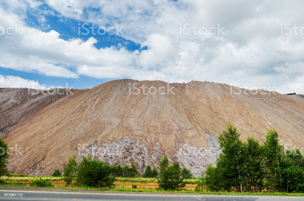 beautiful industrial landscape stock photo