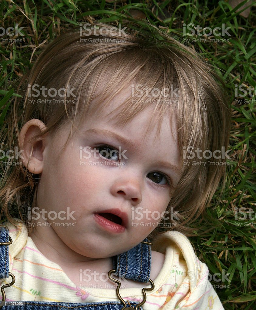 Beautiful Innocent Eyes royalty-free stock photo