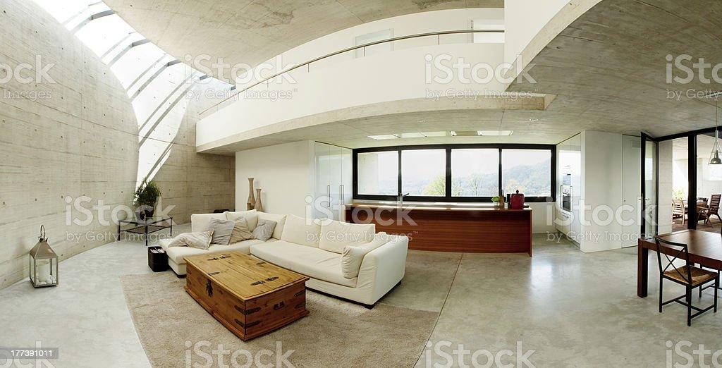 Beautiful interior modern home royalty-free stock photo