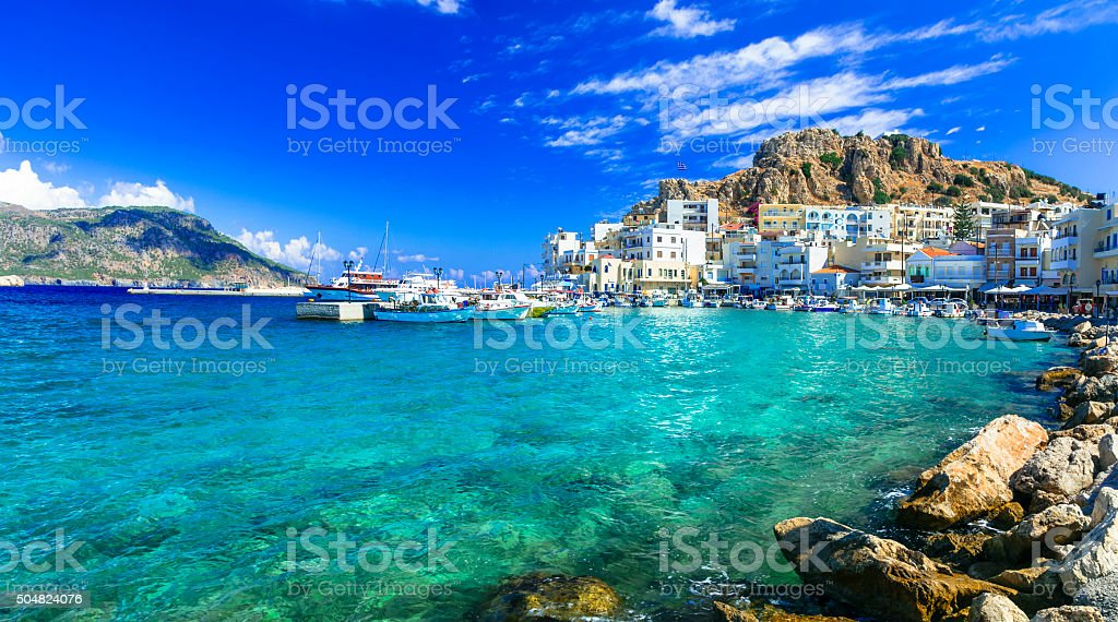 Beautiful Island Of Greece,Karpathos. stock photo