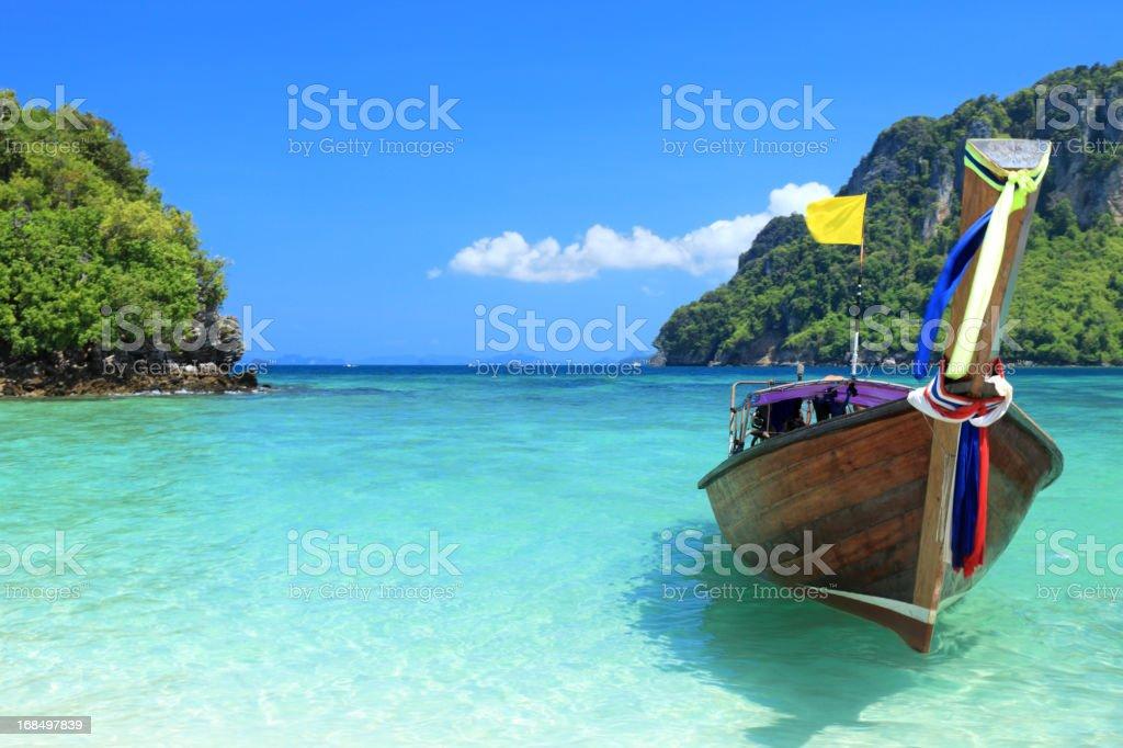 Beautiful island stock photo