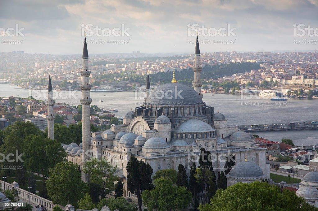 Beautiful Istanbul view stock photo