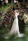 Beautiful Japanese Bride Posing