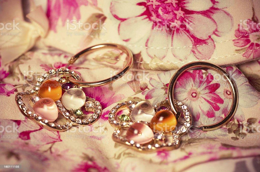 Beautiful jewelry. royalty-free stock photo