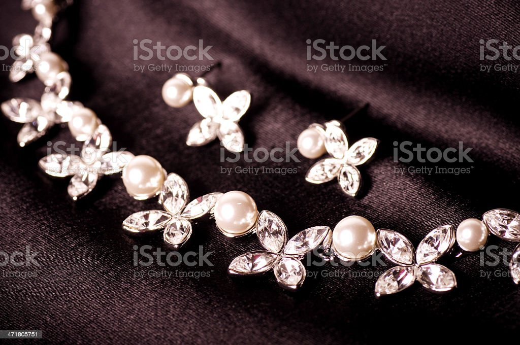 Beautiful jewelry. royalty-free stock photo
