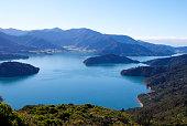 Beautiful Kenepuru Sound, Marlborough Sounds, New Zealand