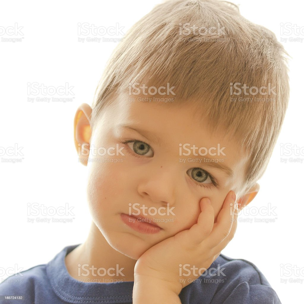 Beautiful kid posing and smiling royalty-free stock photo
